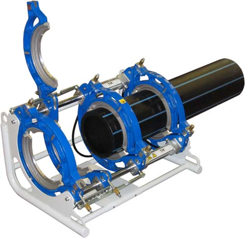 Base machine soudeuses +GF+ pour tubes plastique