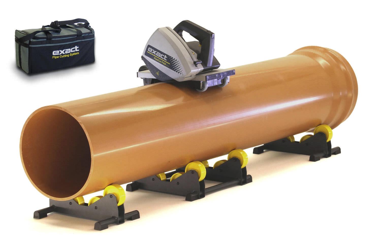 Vendeur de scies EXACT pour tubes plastique très gros diamètre